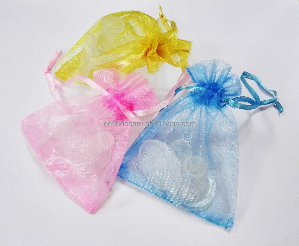 Clear Heel Protector Stoppers With Optional Gift Bag