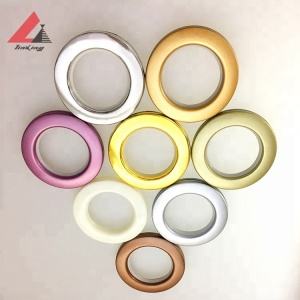 curtain window ring eyelets for curtain tape with holes