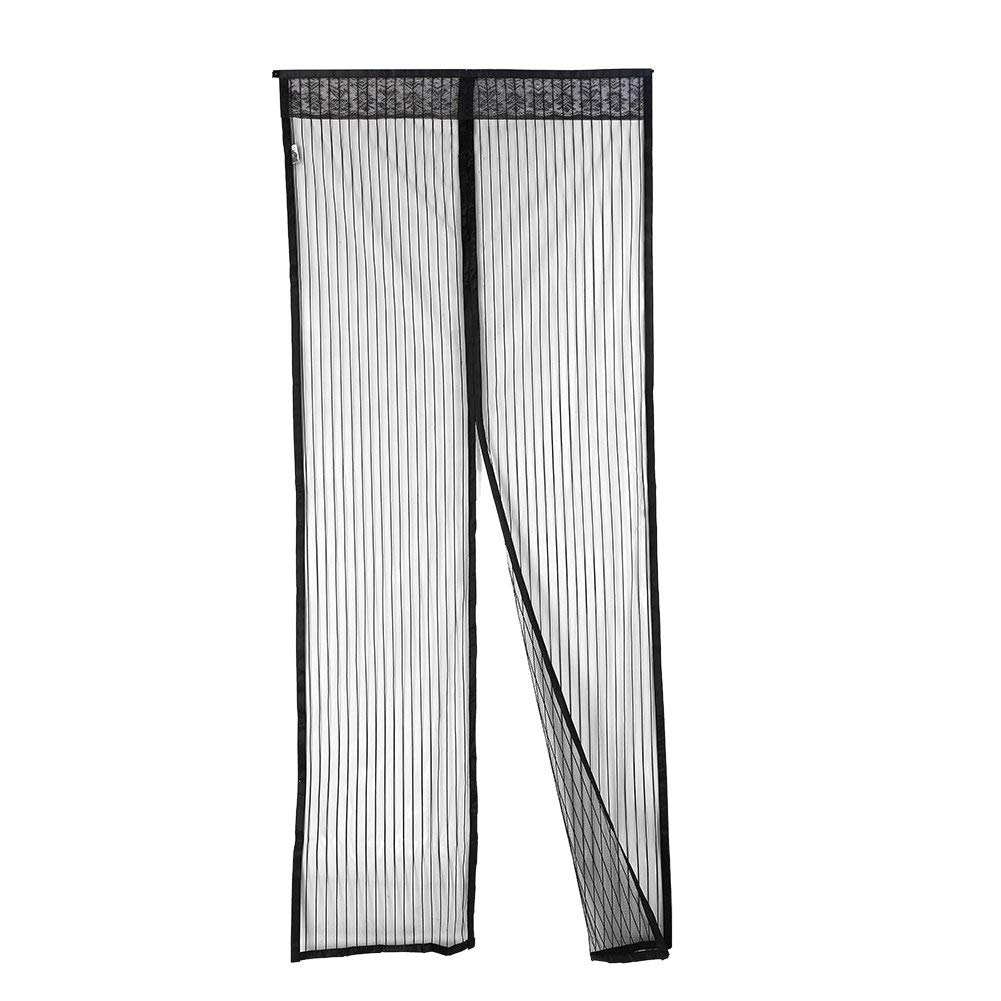 "Smartcoco Magnetic Screen Door Summer Anti-mosquito Mesh Curtain Mosquito Net Soft Yarn Door Tulle Window Screen, Fit Doors Up To 35"" W x 83"" H MAX"