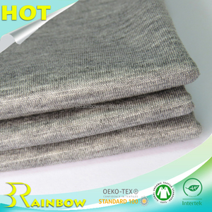 Knitting Dyed 70% Tencel 30% Cotton Tencel Fabric for Summer T-shirts