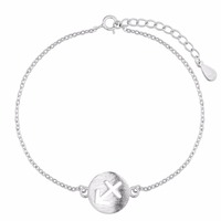 925 Sterling Silver Jewelry Female Korean Birthday Gift Wholesale Charm Bracelets & Bangles for Women