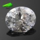 good quality lab created AAA big CZ loose rough stone white cubic zirconia