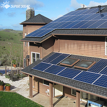 10kw Off Grid Home Solar Power System Kit With Full Package Design