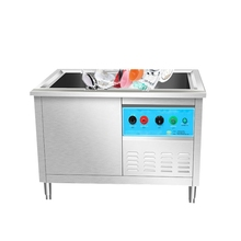 High Capacity Commercial Dimensions Ultrasonic Automatic Dishwashers Use In Restaurant
