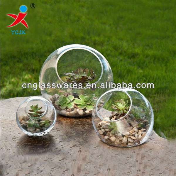 standing glass globe terrariums vase with flat base - Standing Glass Globe Terrariums Vase With Flat Base - Buy