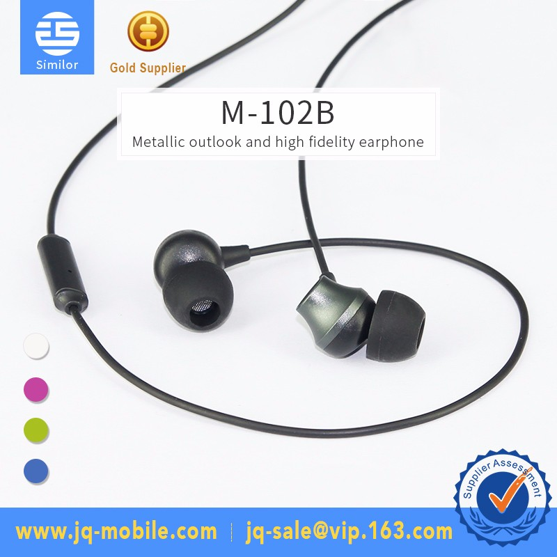 Hot Sale 3.5mm Stereo Mono Jack Noise Cancelling Earphone for Mobile Phone