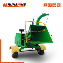Strict Time Control Manufacturer 360 Degrees Discharge Hood Power Chipper