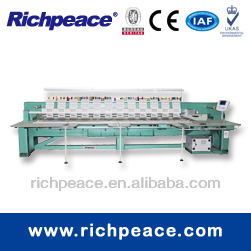 Computerized cnc multi needle flat embroidery machine