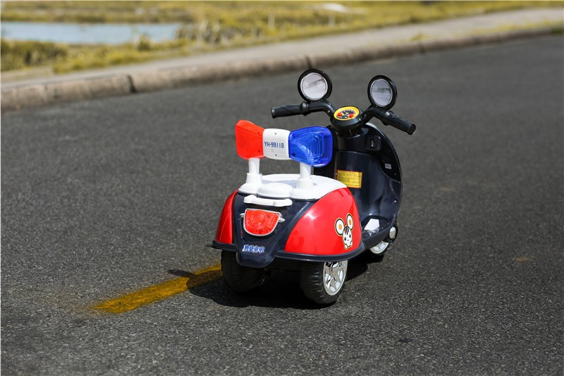 High quality 3 wheel cute children mini electric toys ride on motorcycle