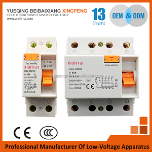 Magnetic type rccb,electric leakage protection residual current circuit breaker,F362,F364,1P+N 20A 30mA 50mA 100mA 6KA