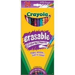 Bulk Buy: Crayola Erasable Colored Pencils 24/Pkg 68-2424 (2-Pack)
