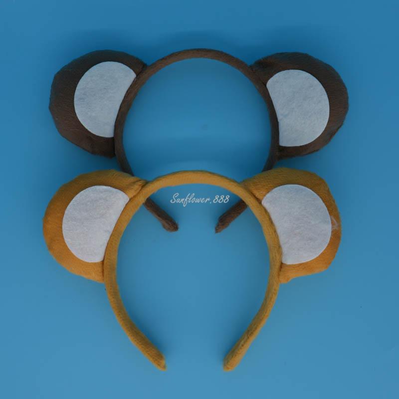 Halloween Party Animal Monkey Ears Headband Bow Tail font b Fancy b font font b Dress