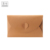 Cute Stationery Love Heart Shape Closure Brown Kraft Paper Folding Envelope