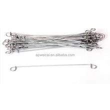 Galvanized double Loop Tie Wire Used for Bailing Wire