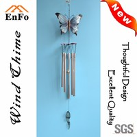 Craft Polyresin Butterfly Wind Chime