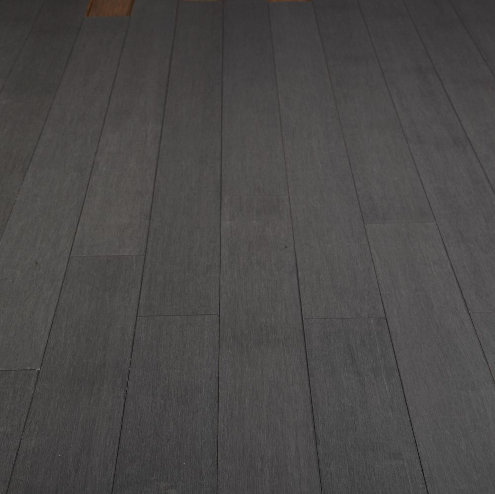 Stained Strand Woven Bamboo Flooring Denali Grey Buy