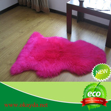 Sheepskin rug colored/Shaggy carpet rug/home traditions textiles rugs muslim children prayer rug