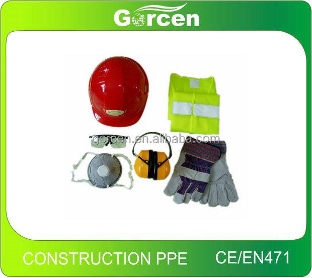 GP3001Construction СИЗ строительной техники безопасности оборудования СИЗ комплект