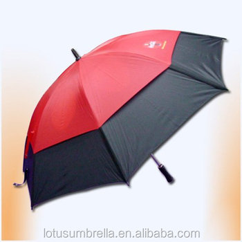 Double layers strong windproof Golf Umbrella