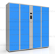 Smart metal storage/barcode/electronic locker for school student gym laundry beach