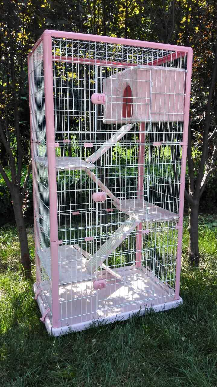 Bsci Audited Factory Wholesale Cat Cage Indoor Cat Kennels
