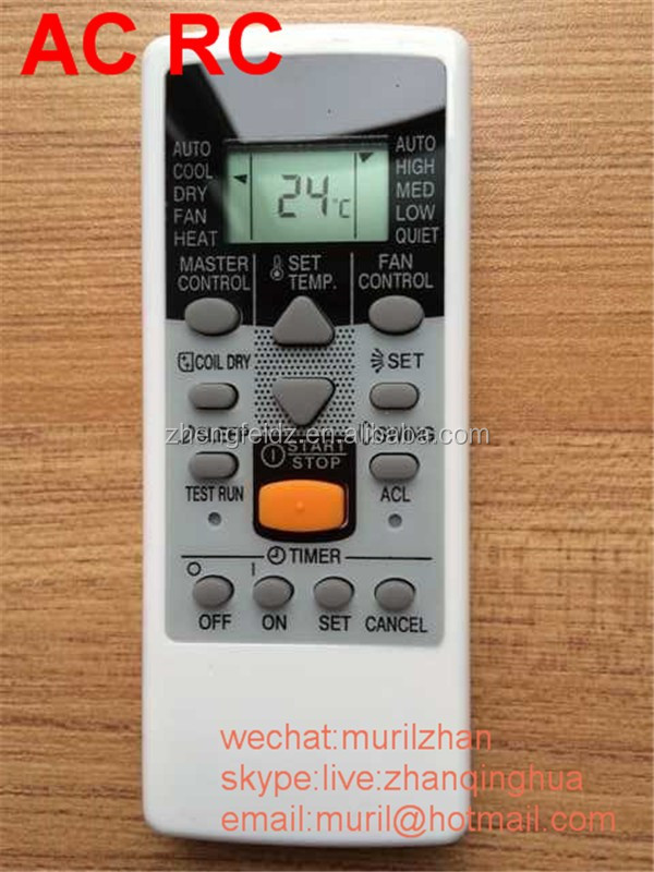 Zf White 11 Keys Central Air Conditioning Remote Control For Hitachi,Also  Suit For Hisense Ac - Buy Danaher Ac Control,Central Air Conditioner