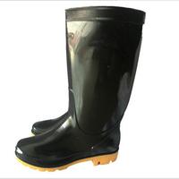 DEMI 347 China suppliers monogrammed black men pvc rain boots