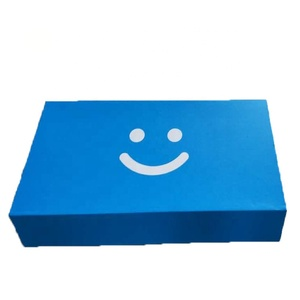 custom-made foldable recycle magnetic cardboard packaging box inside with divider card packaging