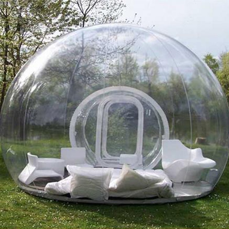 Electric blower 4m*3m bubble Tent Inflatable transparent clear dome outdoor lawn c&ing & Electric Blower The Most Popular Outdoor Inflatable Transparent ...