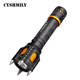 CYSHMILY Anti Wolf Explosion-proof 1000 Lumen 18650 Tactical High Power Electric Charge Self Defense Security Flash Lights