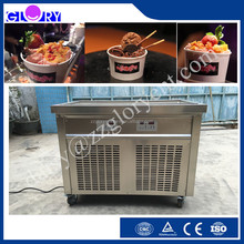 Thailand Commercial Fried Ice Cream Roll/ Ice Whipping Machine/ Ice Cream Cold Plate