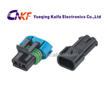 gm 2 way female sensor plug auto wire connector 15300027 15300002 buy auto wire harness connector,2 pin connector,auto wire harness connector  2 wire harness female #9