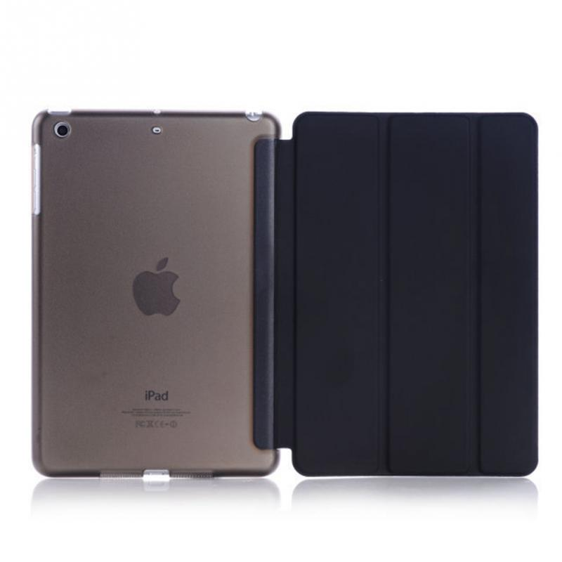 Factory Hot Selling Leather Ultra Slim Lightweight Auto Wake Sleep folding stand case cover for 2017 2018 New <strong>iPad</strong> pro 9.7 inch