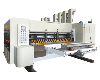 Automatic corrugated paperboard printing machine slotting machine used for sale small box
