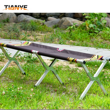 Manufacture good quality folding benches lounge camping chair for sale