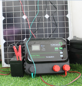 Solar Electric Fence charger for agriculture equipment animal fence