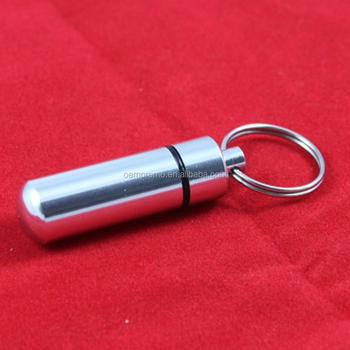 Waterproof Keychain Pill Box for Wholesale