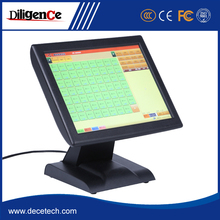 Hot-selling 15inch 3 color optional All-in-one two touch pos system