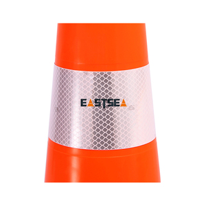 Popular Factory Supply Rubber Traffic Cones Safety Traffic Cone