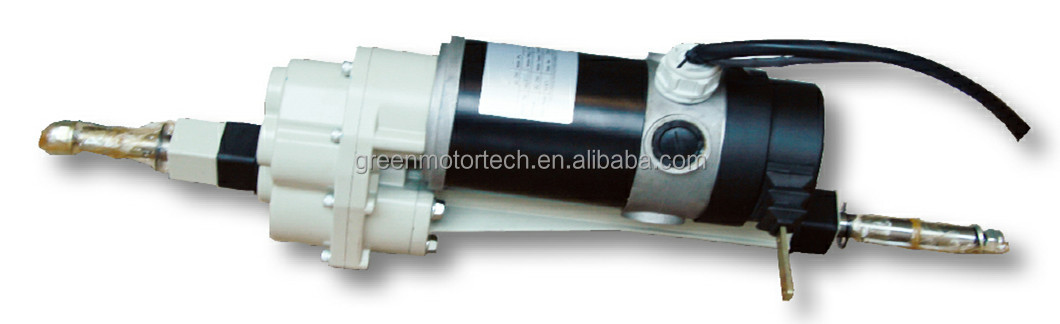 Tricycle rear dc gear motor with gear reduction 48v 12v for Mobility scooter motors electric