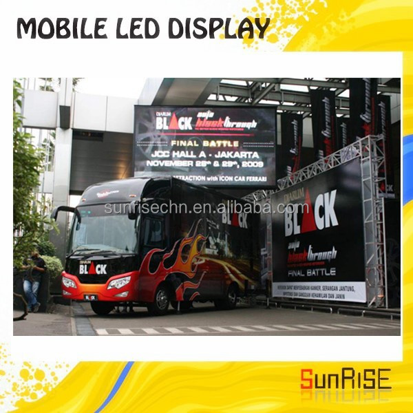 Good Effect P10/p16/p20 Outdoor Full Color Ad P10 Full Colo Truck Led Display,Truck Mounted Led Display,Mobile Led Scoreboard