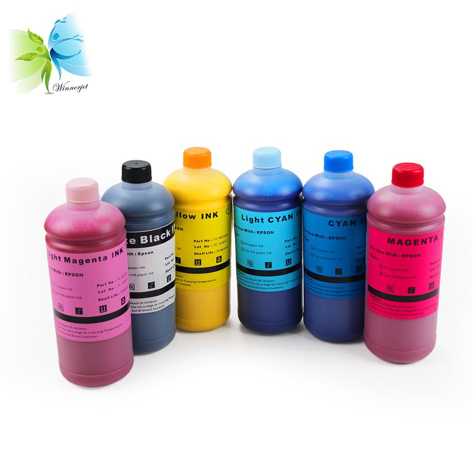 Inkjet Printer Price Remains Stable Computer & Office Ocinkjet 4 Colors Art Paper Pigment Ink For Epson T10 T20 T13 T30 T33 T50 T60 P50 R200 R210 R230 R250 R260 Etc Ink Refill Kits