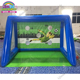 Professional custom inflatable sport game, airtight inflatable soccer goal, inflatable football goal for sale