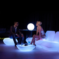 Vondom Led Furniture chair/illuminated LED bar table/stool/event furniture glowing chairs