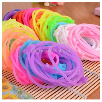 Popular Silicone Hair Bands/oem Colorful Hair Bands - Buy Silicone ...