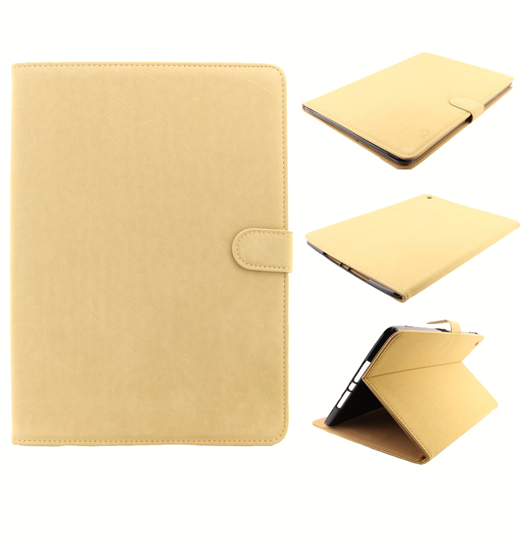 Genuine Leather Slim Case For iPad Air High Quality Luxury Stand Smart Tablet Covers & Cases