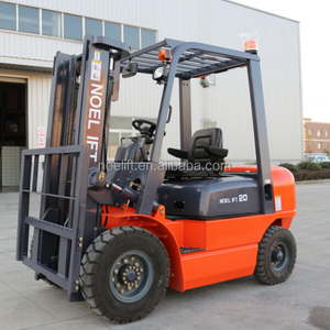 High quality 2000kg construction machine counter balance fork truck with hydraulic coupling