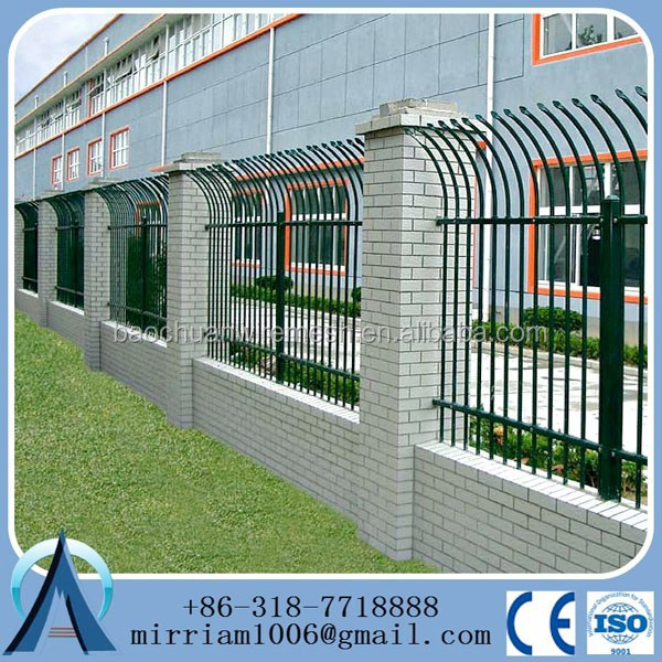 Pvc Coated Welded Galvanized Steel Fence Post Cap