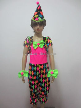 colorful funny clown costume for kids carnival costume  sc 1 st  Alibaba & Colorful Funny Clown Costume For Kids Carnival Costume - Buy Clown ...