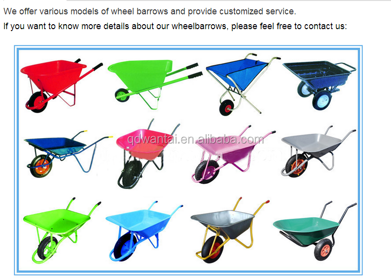 Plastic barrow duty heavy china supplier garden tools for Garden hand tools names